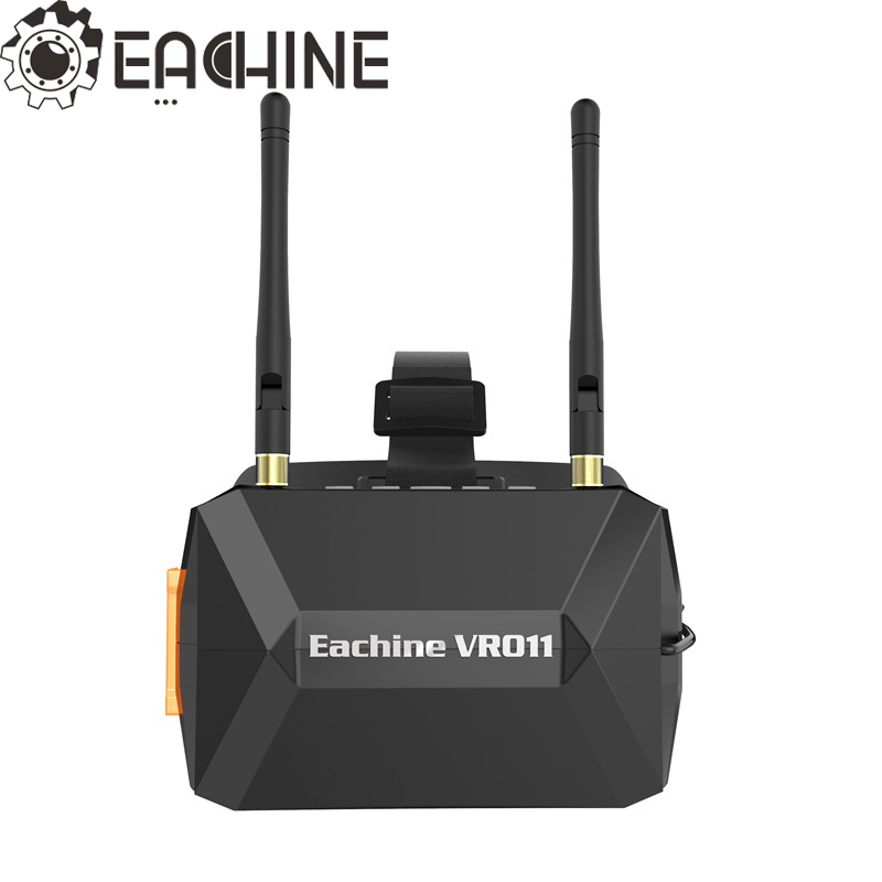 Eachine VR011 VR-011 5 Inches 800*480 Diversity 5.8G 40CH Raceband FPV Goggles For RC Camera Drone With Eachine ProVDR VDR  new eachine vr d2 pro upgraded open source 5 inches 800 480 40ch 5 8g diversity fpv goggles w dvr lens adjustable fpv goggles