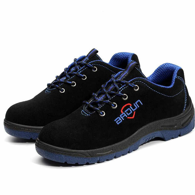 Unisex S3 Safety Shoes Steel Toe Work