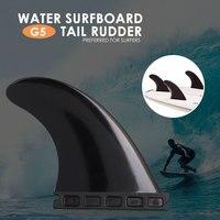 0345a1862 Practical Surf Fins Surfboard Fins Surfboard Rudder Portable Durable Nylon  Plus Fiber 3 In 1 Beach