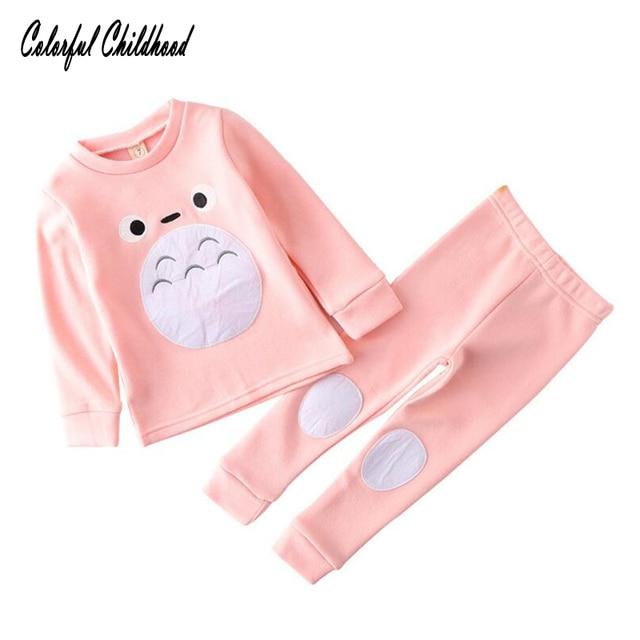 657596253 Baby Girls Clothing Sets Kids Totoro Tracksuit Set Catoon Pyjamas ...