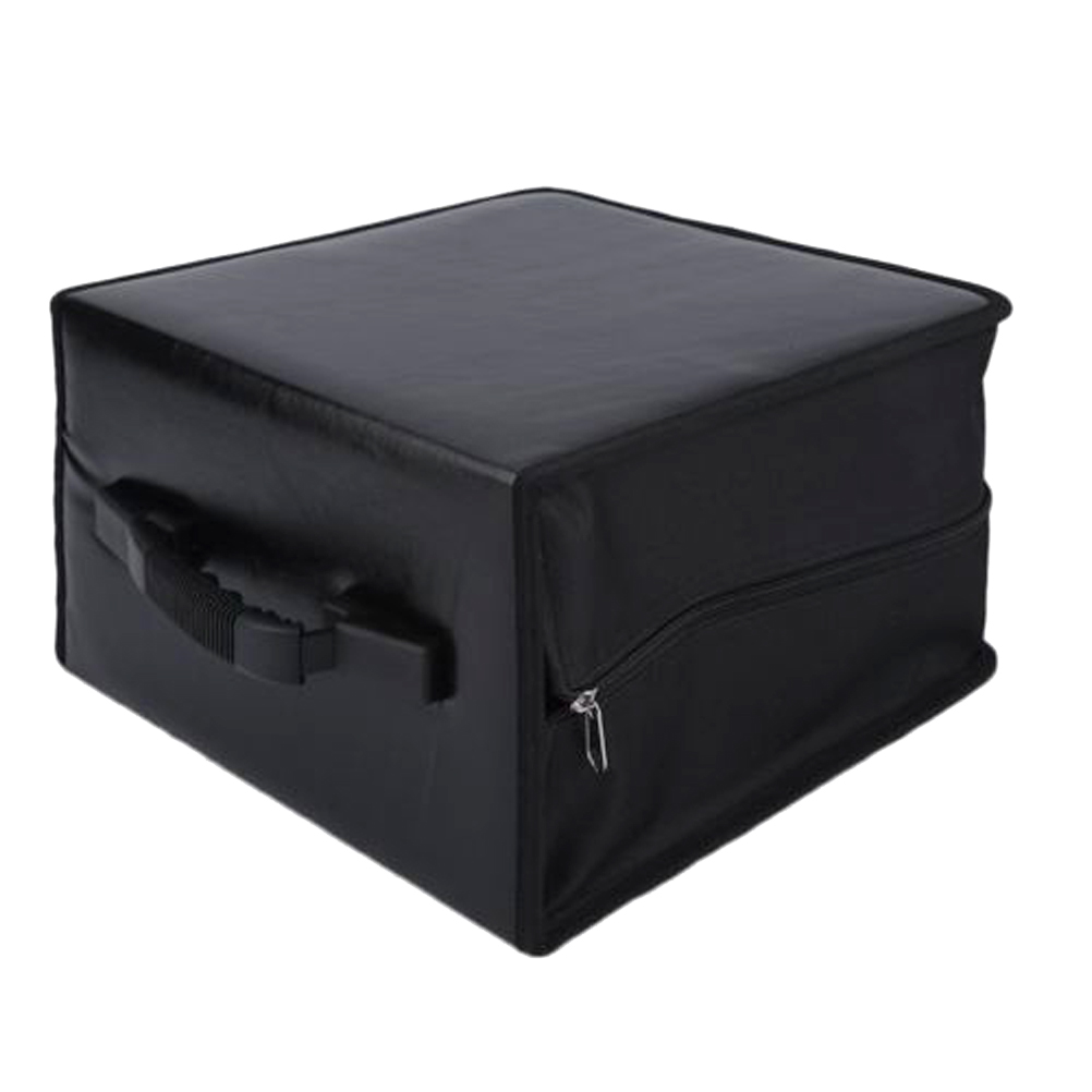 Portable CD DVD Wallet Holder Bag Case Album Organizer Media Storage Box 1pcs 40 disc cd dvd case storage holder carry case organizer sleeve wallet cover bag box cd dvd holder dj storage cover