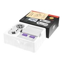 Estilo Retro clássico Console De Vídeo Game Super Mini Para NES Consola de Jogos TV Entretenimento Construído-em 400 Com 2 Fios Gamepad