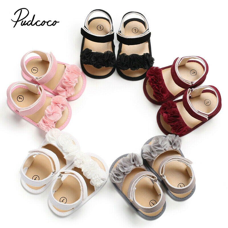 Children Shoes 2019 Summer New Kids Shoes Lovely Flower Shoes Fashion Girl Sandals Magic Baby Shoes For Kiad
