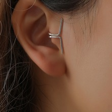 no pierced ear cuff earrings for women clip on hole earcuff geometric cuffs 1pc