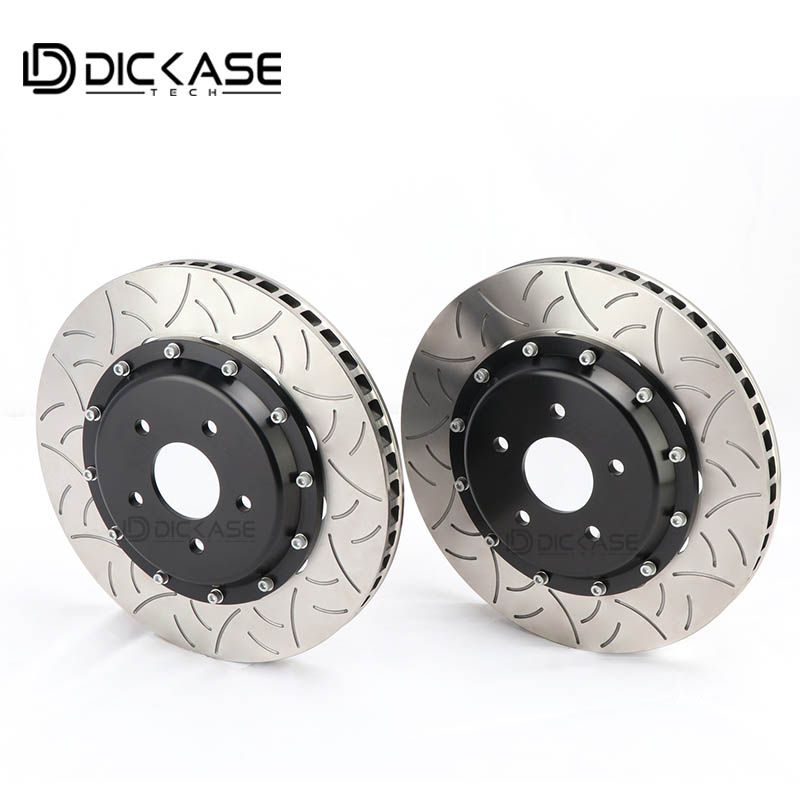Rotor de frein modifié de haute qualité de pièces de frein automatique Type3 pour BMW F30 pour étriers de frein à six pistons CP9660