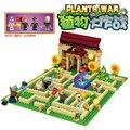 2 стиля plants vs zombies  можно снимать  игра  экшн-игрушки и фигурки  строительные блоки  кирпичи  совместимые подарки