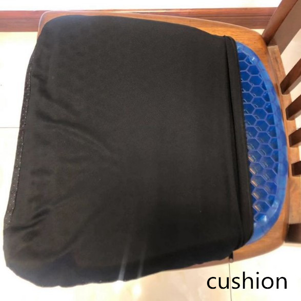 Gel-Cushion Massage Office-Chair Comfortable Soft Outdoor And Non-Slip