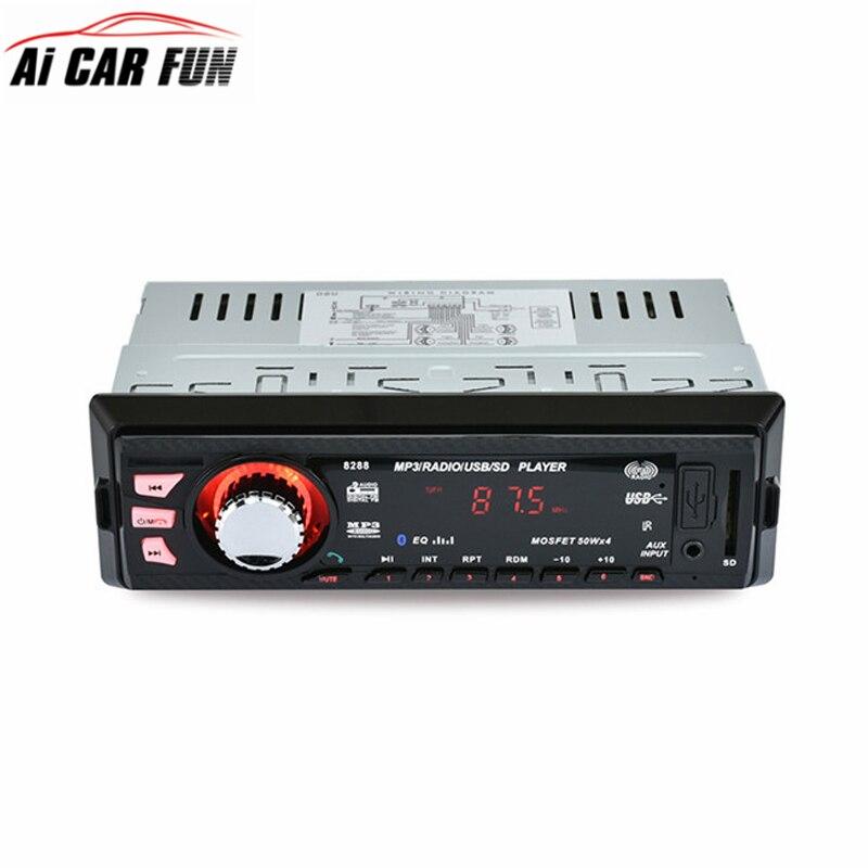 8288 12 V אודיו סטריאו לרכב אודיו לרכב נגן MP3 SD-USB שלט רחוק Mp3-speler AUX-DVD VCD CD Speler