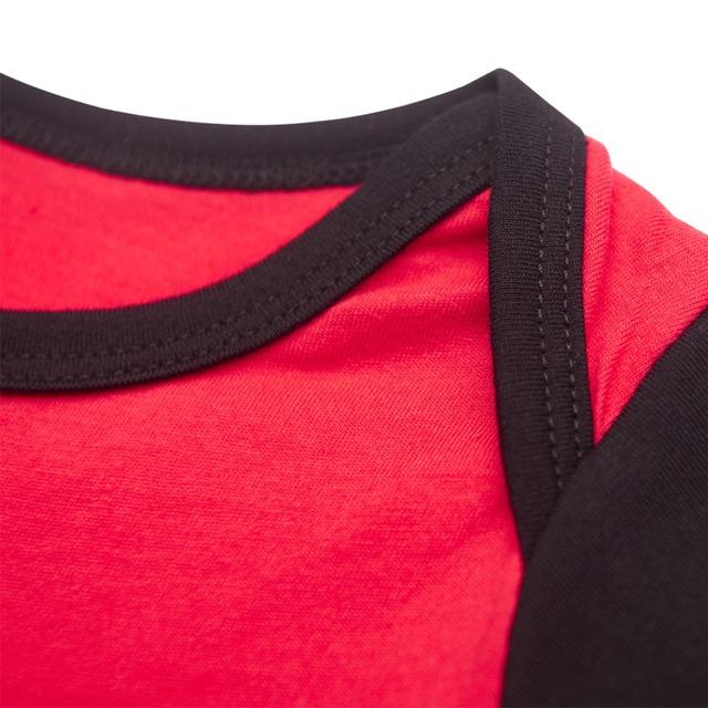Bébé Filles Harley Quinn Body Manches Courtes Babygrow Mignon Parti Costume Taille 0-24 M