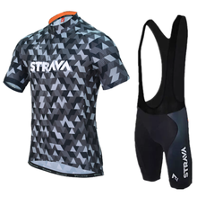 2018 Pro Summer STRAVA Cycling Jersey Team Short Sleeve Ropa Ciclismo Maillot Quick Dry Bycicle Clothing 9D Gel Pad(China)