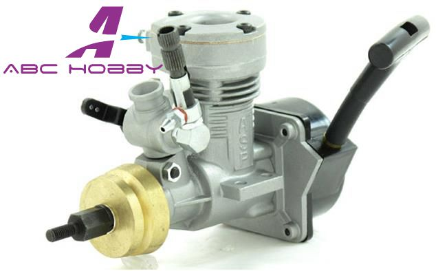 15MX ASP 25CC 2 Stroke Glow Engine With Muffler For Nitro RC Boats 72P Pull Start And Pipe In Parts Accessories From Toys Hobbies On