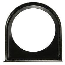 유니버설 카 블랙 메탈 대시 게이지 미터 싱글 홀 마운트 홀더 포드 브래킷 52mm 2 인치