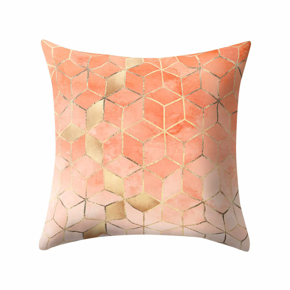 Gajjar Nordic Style Geometric Cushion Cover Polyester Pillow Case Colorful  Home Decorative Pillows Cover For Sofa Car 409Z