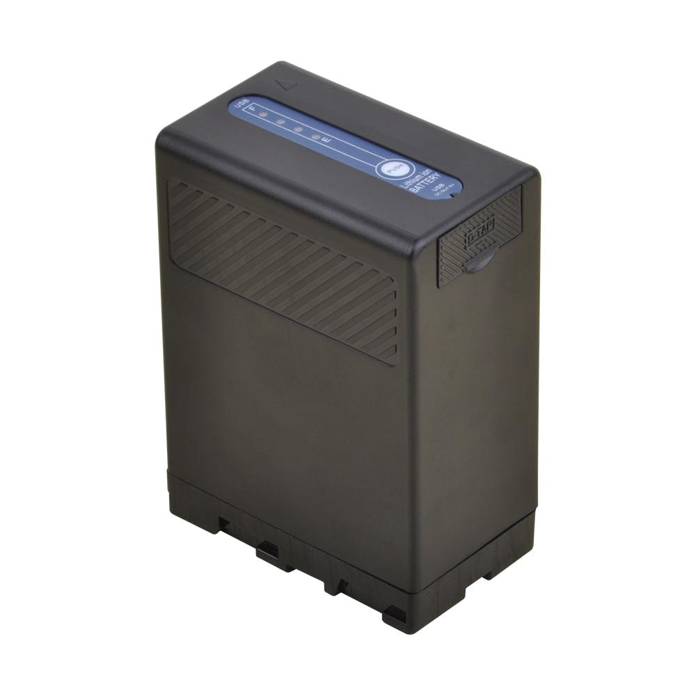 1pc 5200mah USB Sortie BP-U60 BP U60 BPU60 Rechargeable Li-ion Batterie pour Sony PMW-100 PMW-150 PMW-160 PMW-200 PMW-300 PMW