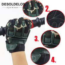 5-13 Years old Kids Tactical Fingerless Gloves Military Armed Anti-Skid Rubber Knuckle half Finger Boys Girls Children