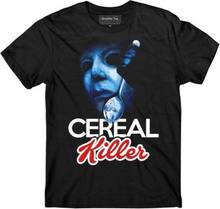 401e92a6 Halloween t-shirt Michael Myers Cereal Killer, No Lives Matter 2345XL F373  Cool Casual