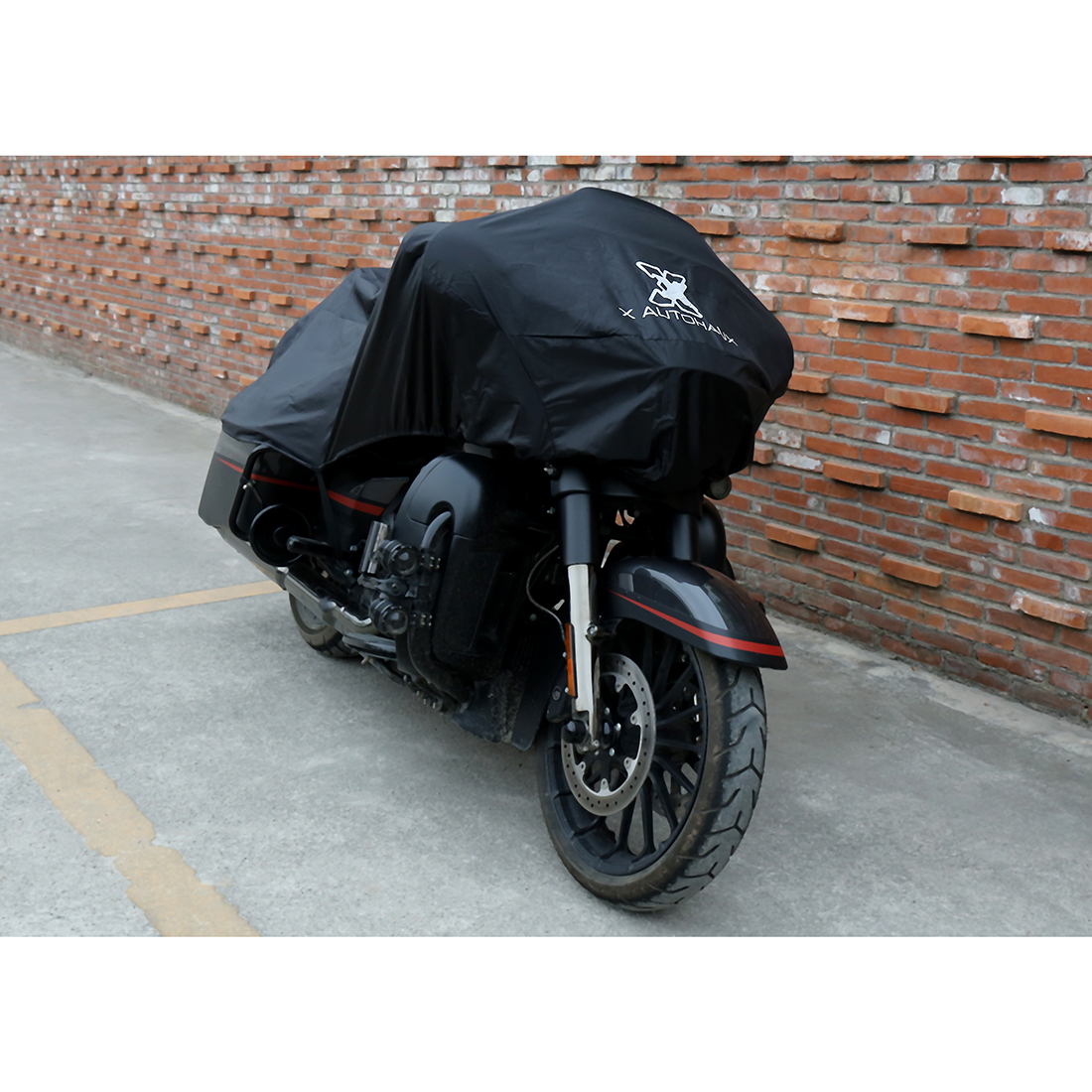 XXL Waterproof Motorcycle Cover For Harley Road King Classic FLHRC FLHR XL883