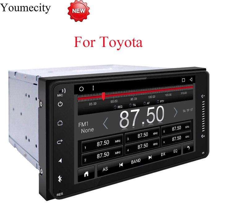 Youmecity автомобиля Радио Стерео DVD плеер для Toyota Avalon AVanza Celica Granvia Hiace Kluger Paseo Previa Prius Сиенна Solara Wish