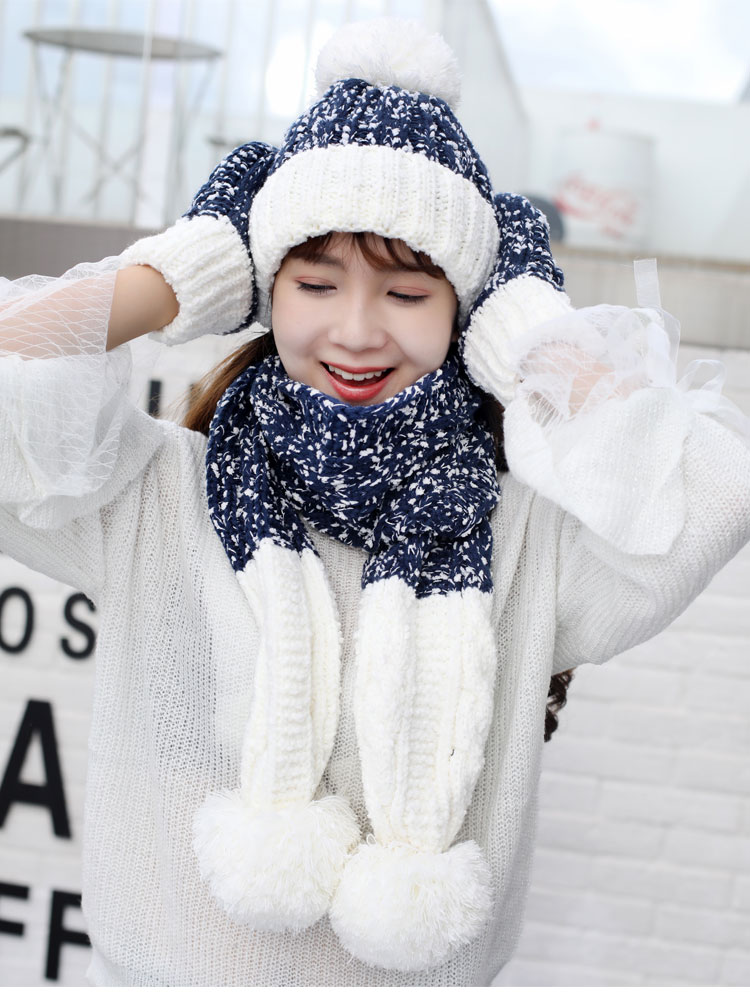 at and scarf set hat and scarf women\`s knitted hat and scarf for women Hat & Glove Sets hat and scarf set winter hat and scarf sets (12)