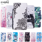 Touch5 Phone Bags Coque For Eui iPod Touch 6 Case Luxury Leather Flip Wallet Cover for Apple iPod Touch 5 6 Case Capinha Housing
