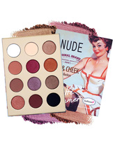 Makeup Eyeshadow Palette Glitter shimmer Matte Pigment Smoky Nude Balm Cosmetics Eye 12/16Color