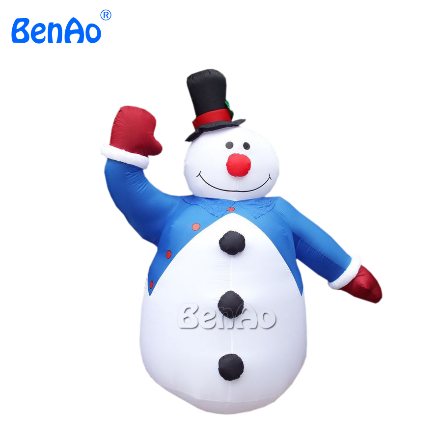 X137 Free shipping inflatable snowman for home yard Christmas ,Christmas decoration Outdoor advertising inflatable Christmas цена и фото