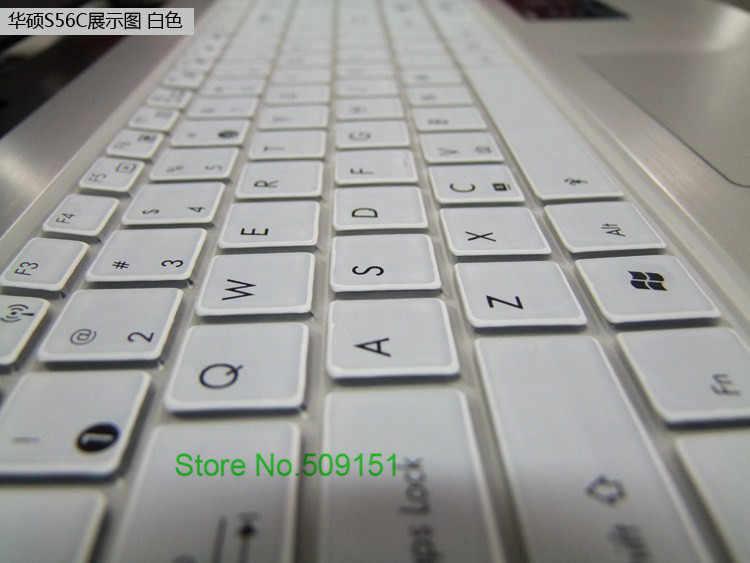 15,6 pulgadas cubierta de teclado Protector de la piel para Asus X555YI X555Y FL5600L K555 k550d n551 zx50 fx50j K555L FL5900 de 15 pulgadas