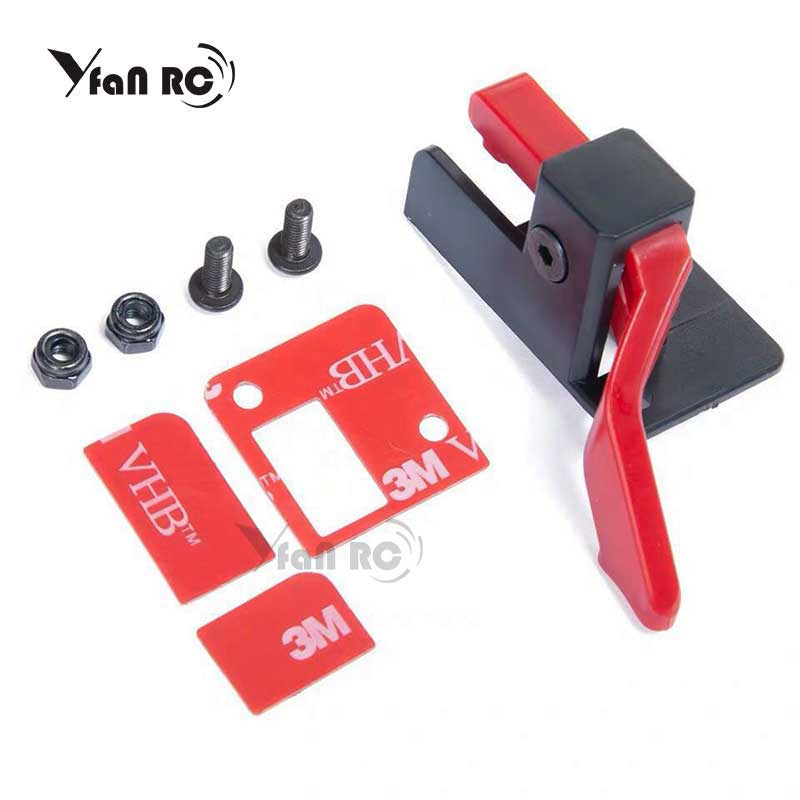 Yfan RC TRX4 Easy Start Trigger ESC Power Switch Bracket Power Transfer For TRX4 ESC Easy Start Trigger DIY