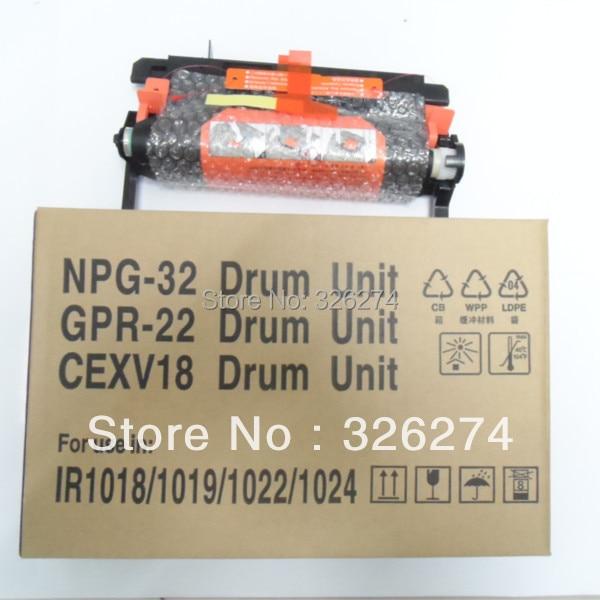 IR1018 Drum Unit/New Hihg Quality Copier Parts For Canon IR1019 IR1022 IR1024 Drum Kit NPG-32 Drum Unit GPR 22 CEXV18 Drum Unit