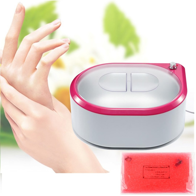 5L Moisturizing Paraffin Bath Smooth Electric Pot Heater & 350G Solid Wax Block For Electric Hot Paraffin Wax Warmer Spa Bath
