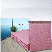 Pink Poly bubble Mailer sobres bolsa de correo acolchada de plástico bolsa de envío de burbuja autosellante