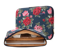 2018 New Design Blue Peony Chinese Rose Laptop Sleeve 11 13 14 15 15.4 17 inch, Bag Notebook 14.1, For MacBook Air Pro 13.3