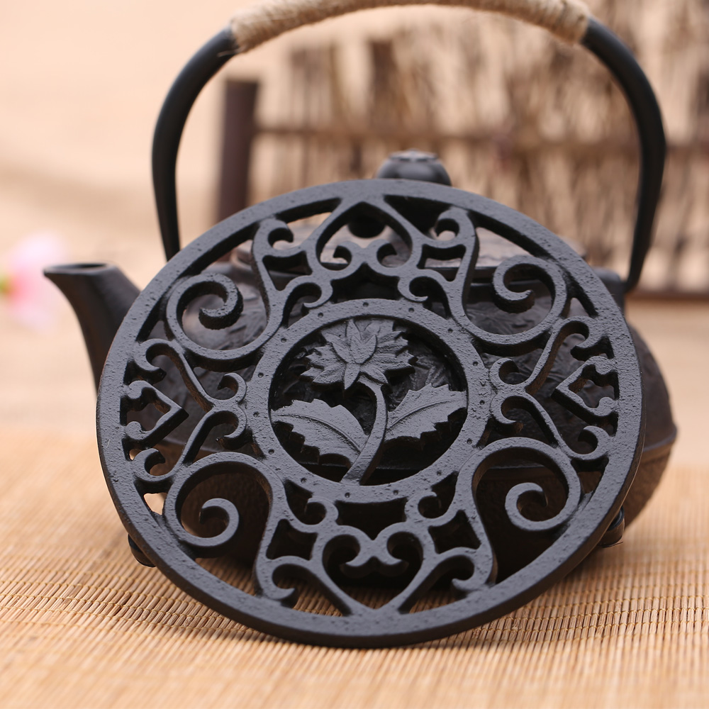 Free Shipping Cast Iron Teapot Trivets, Cast Iron Teapot Holder