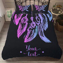 Bedding Set 3D Printed Duvet Cover Bed Dreamcatcher Bohemia Home Textiles for Adults Bedclothes with Pillowcase #BMW07