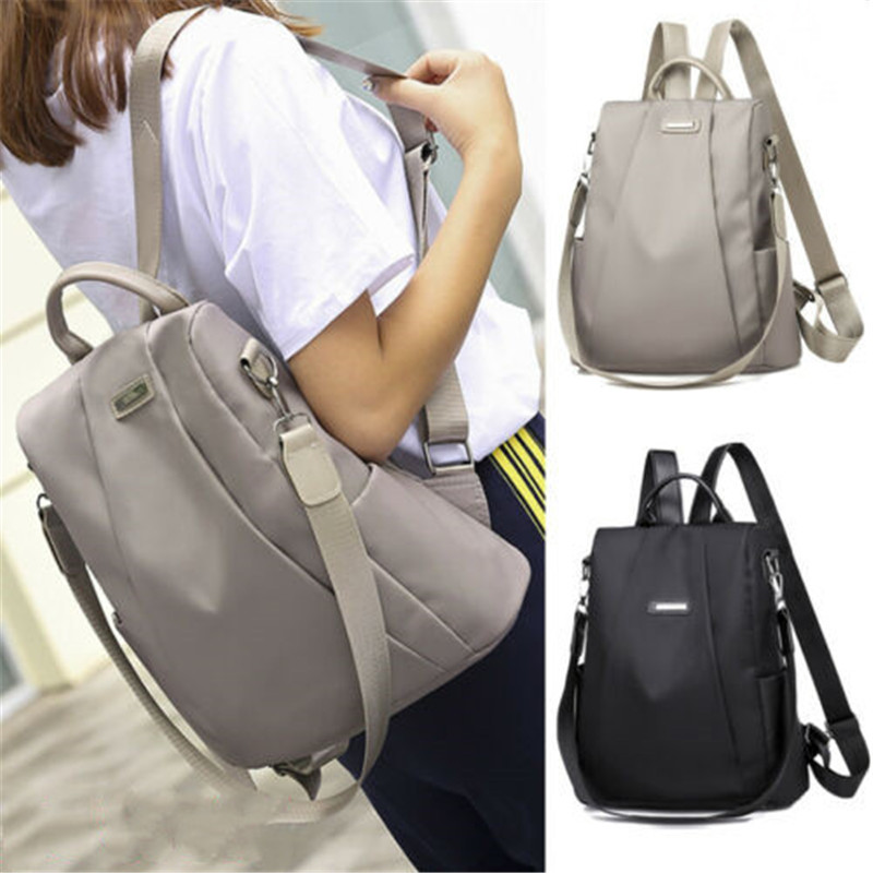 2019 Brand New Style Women's Girl Large Designer Style Oxford Backpack Shoulder School
