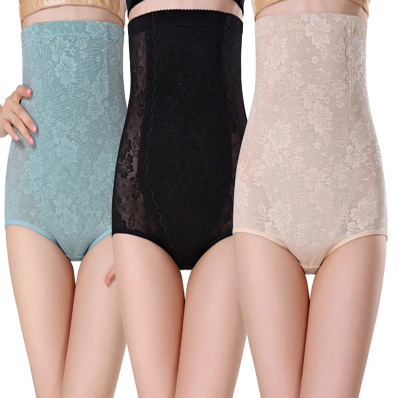 974b220b7d Plus Size High Waist Trainer Tummy Control Thong Seamless Underwear Body  Shaper Building Shapewear New Useful Women Underpants-in Control Panties  from ...