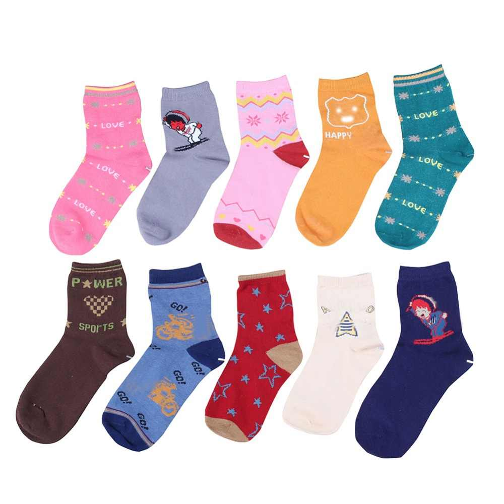 765bcc214 2019 Baby happy socks for Girls Cotton Cartoon Kids Candy Colors breathable  stylish