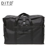 DITD 2018 High Quality Fashion WaterProof Travel Bag Large Capacity Bag Women Nylon Foldable Bags Unisex Luggage Travel Handbags
