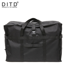 DITD 2019 High Quality Fashion WaterProof Travel Bag Large Capacity Women Nylon Foldable Bags Unisex Luggage Handbags