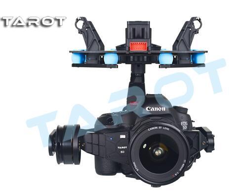 Tarot 5D3 3-Axis Self-stabilizing Gimbal Camera Mount TL5D001 for Canon 5D Tarot X6 Hexcopter the classic tarot карты