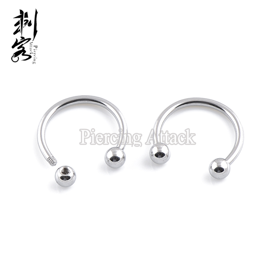 11mm 1.6mm adt/_pi 1 Pc Aurora Borealis Gem Ball Stud Stainless Steel Belly Button Navel Barbell Rings Piercings Jewelry 14gauge x 7//16