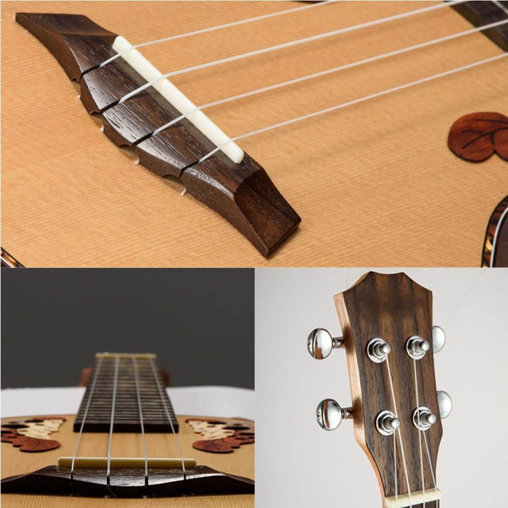 4 pcs set nylon bass strings guitar string ukulele parts accessories in guitar parts. Black Bedroom Furniture Sets. Home Design Ideas