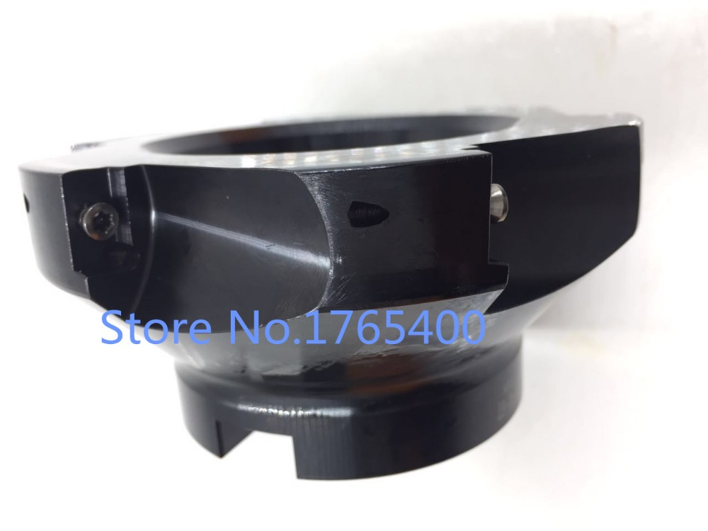 New 125MM 1pcs 6 flute BAP400R 125-40-6T  Face End Mill CNC Milling Cutter