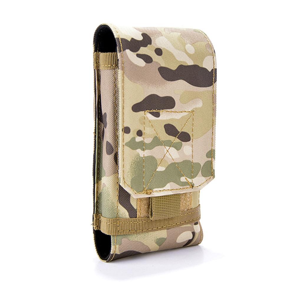 Men Waist Bag Fanny Pack Nylon Phone Pack Bum Bag Military Belt Bag Mobile Phone Case Wallet Purse For Male Camouflage Durable