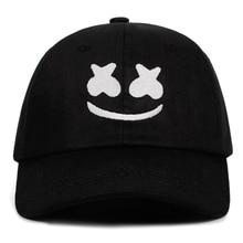 Doctom Бейсбол Кепки хлопковая шляпа c вышивкой, для отца Американский DJ Chris Комсток Unisex Snapback Шапки дот только рисунком в виде улыбающихся рожиц;