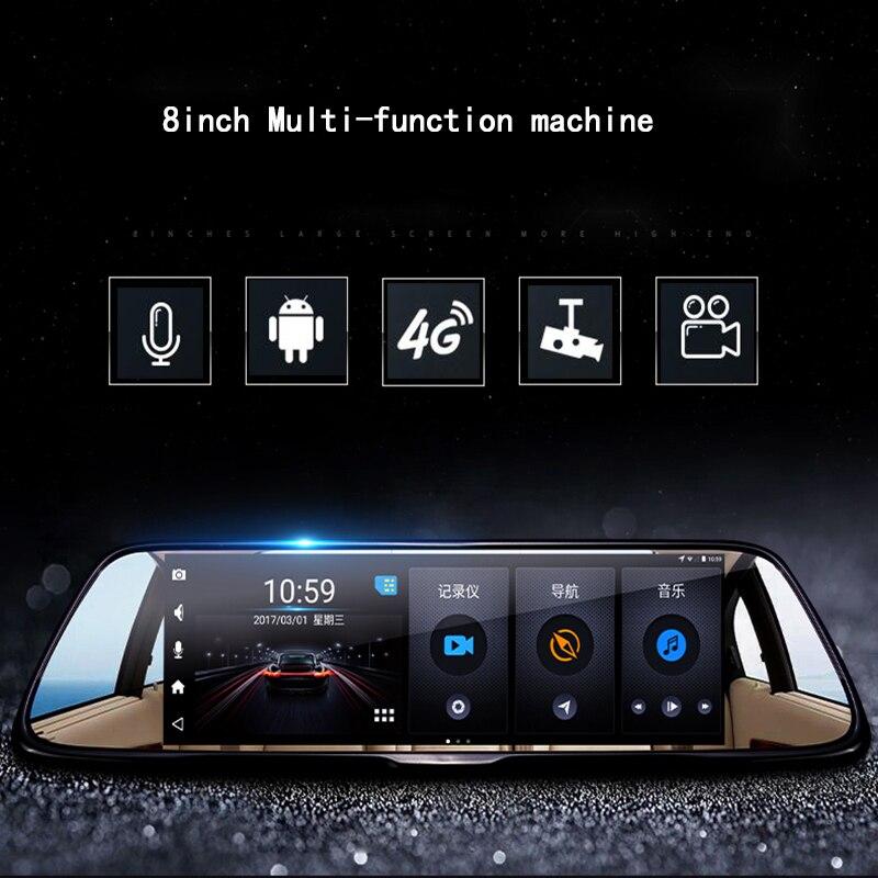 """8 colių 1080p """"Android"""" automobilis GPS DVR vairuotojo įrašymo - Automobilių Elektronika - Nuotrauka 3"""