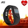 Teamyo Banda Inteligente M5 Inteligente Muñequera Heart Rate Monitor de Presión Arterial Sport band Smartband Gimnasio Rastreador Pulsera para IOS Y
