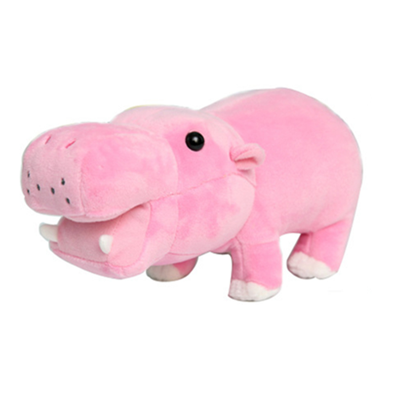 22cm Cute Cotton Stuffed Plush Hippo Toys  Hippopotami Sleeping Pillow Wedding Gifts Sea Animal for Kids Children's Birthday new lovely hippo plush toy cartoon hippo doll toys kids toys pillow wedding gift about 100cm