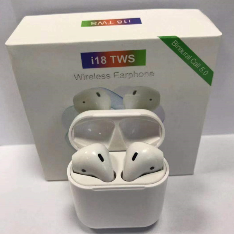 i18 tws touch bluetooth headsets pk w1 chip 1:1 size LK-TE9 wireless headphone pk i9s i10 i12 tws i20 tws i88 tws XY pods