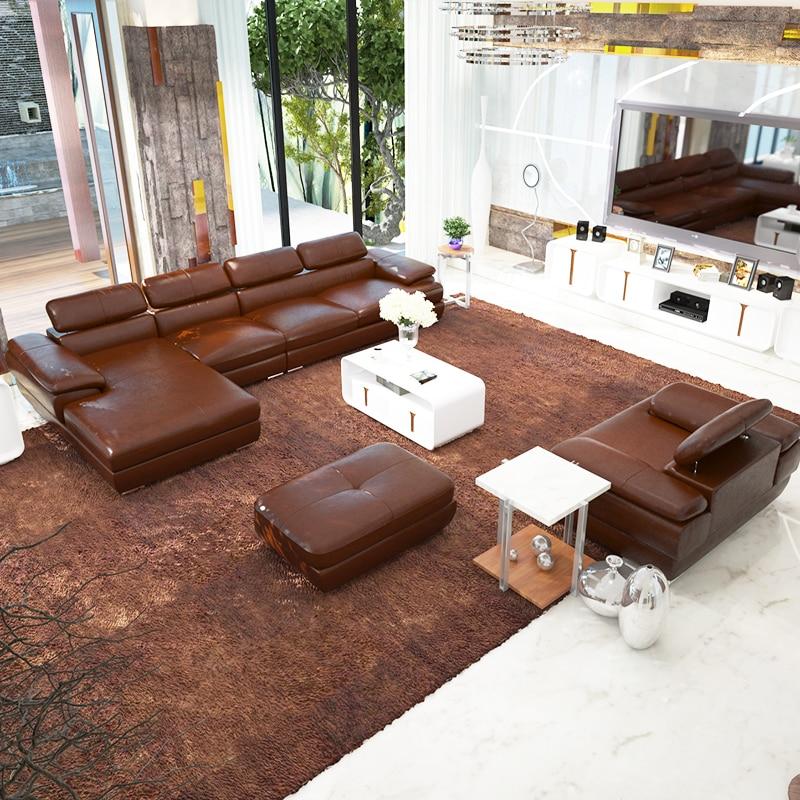 1 seat 3 seatlounge1 set l shaple simple modern sofa